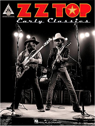 Hal Leonard ZZ Top Early Classics Guitar Tab - Tabs Cheap Sunglasses