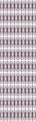 Mauve Decor 3D Decorative Film Privacy Window Film No Glue,Frosted Film Decorative,Arabesque Eastern Mosaic from Medieval Times Art Kaleidoscopic Quirky Axis Art,for Home&Office,23.6x59Inch Mauve Grey
