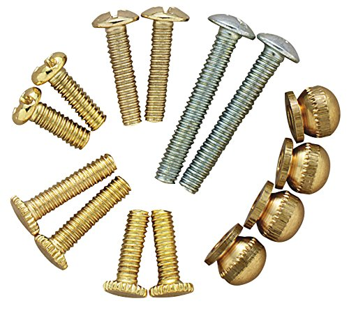 Fixture Screws - Westinghouse 70635 14 Piece Metric Lighting Fixture Repair Kit