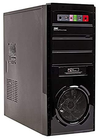 Mach Power CSHAPPY31 Carcasa de Ordenador Midi ATX Tower ...