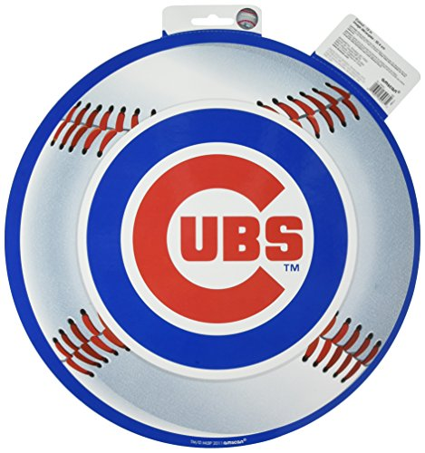 Amscan Chicago Cubs Major League Baseball Collection Cutout, Party Decoration, 6 Ct. ()
