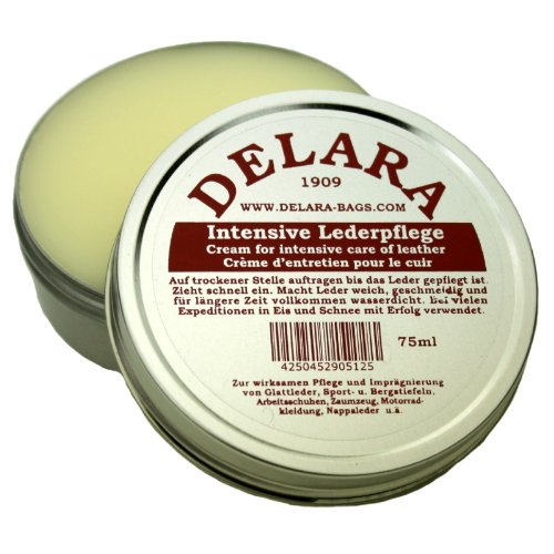 DELARA Intensive Lederpflege farblos 75ml - Made in Germany
