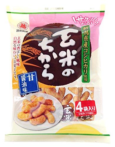 La salsa de soja bolsas dulzura de energia 76gX6 sabor del arroz integral Echigoseika: Amazon.es: Alimentación y bebidas