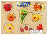 Puzzled Fruit Wooden Peg Puzzle