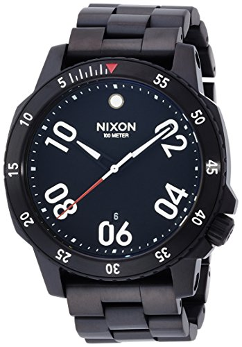 [ニクソン]NIXON RANGER: ALL BLACK NA506001-00 メンズ