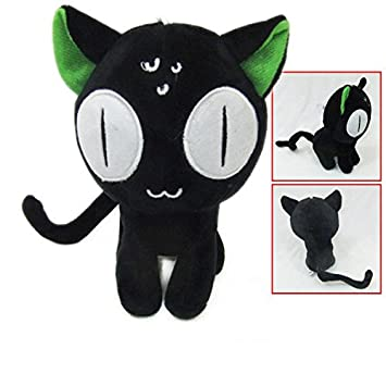 Amazon.com: Gato negro de dibujos animados juguetes de ...