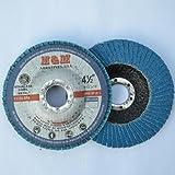 10pcs Premium FLAP DISCS 4-1/2'' x 7/8'' Zirconia 60 grit Grinding Wheel  - Type 29