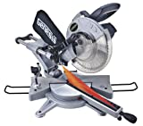 Genesis GMSUDR15L 10-Inch 15-Amp Sliding Compound Miter Saw with Laser Guide