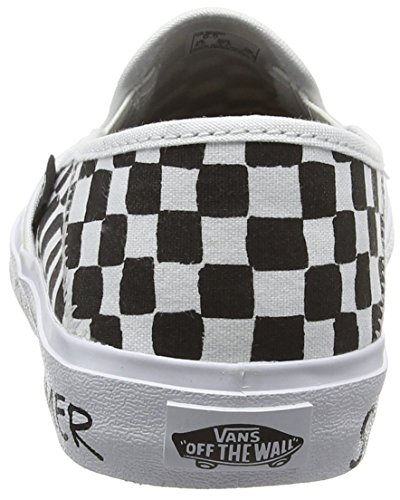Femme on summer Vans checkerboard Slip Multicolore Baskets Sf Basses Bummer nXnS5qvT
