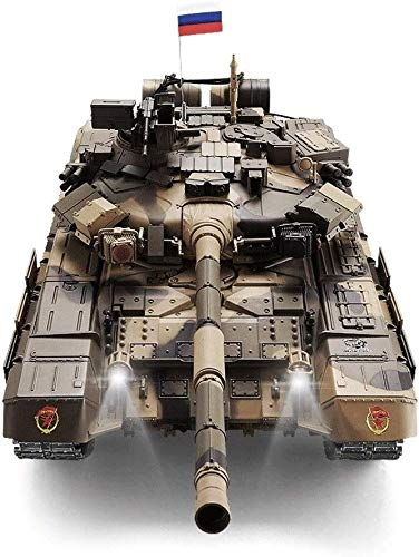 Ladan Remote Control Tank 1:16 Large Simulation Model T-90 Tank Sound and Light Effects Professional Tank Crafts…