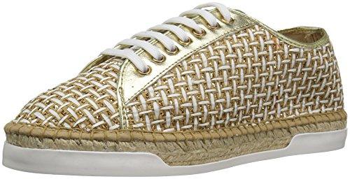 Andre Assous Women's Shelley Fashion Sneaker, Gold, 9 M US