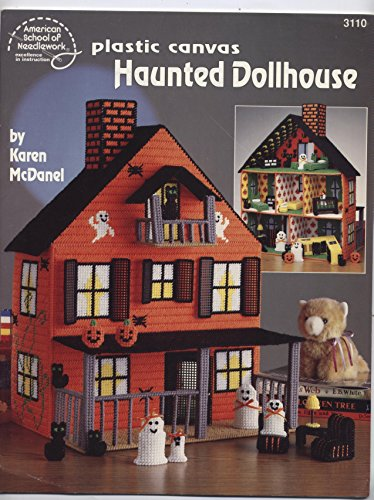 (Plastic Canvas Haunted Dollhouse)