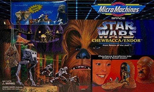 (Micro Machines Star Wars Chewbacca/endor Playset)