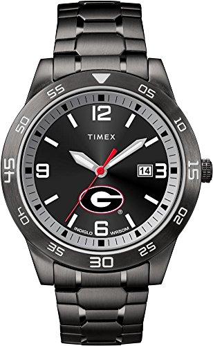 Timex Georgia Bulldogs UGA Men's Black Acclaim Watch