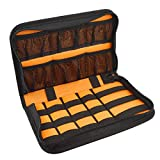 (US) Fidget Spinner Collection Case, Finger Spinner Display Box, Organize Up To 15 Fidget Hand Spinners, Fit Different Shaped Figits / Fingertip Spinner Protective Storage Carrying Bag
