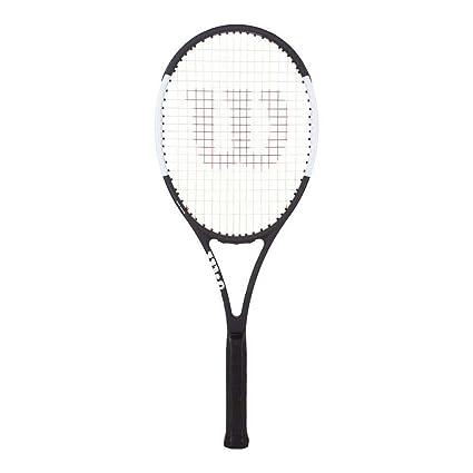 """Wilson Pro Staff Roger Federer 97L Tuxedo Tennis Racquet (4 1/2"""" Grip"""