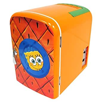 Nickelodeon SpongeBob Squarepants Personal Mini Fridge Refrigerator