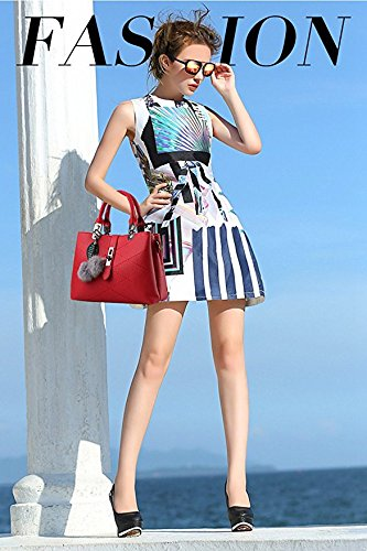 women bag bag pahajim handbags handbag for female Messenger new women Blue for ladies packet Red female bag wave ladies handbags new handbag qT64w0aq