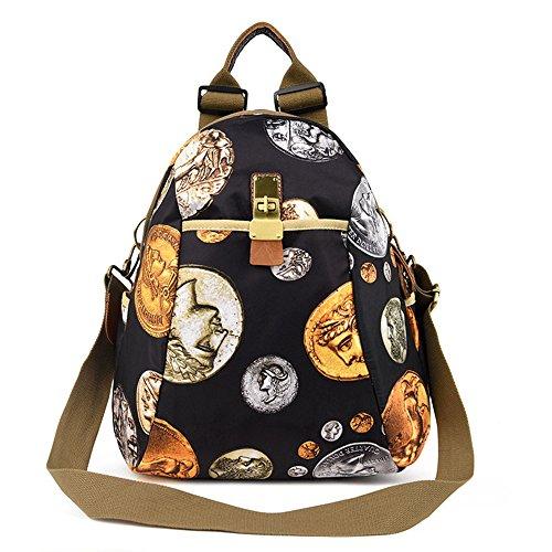 Otomoll Diseñado Moda Mujer Impresión Mochila Mochila Escolar Estilo Casual Mochilas Mochila Portátil Backpackc