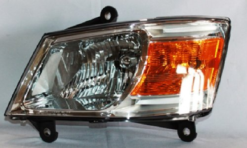 Dodge Caravan Replacement Headlight Assembly - Driver Side (Caravan Lens Dodge Headlight)