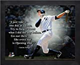 Aaron Judge NY Yankees ProQuotes Photo (Size: 9'' x 11'') Framed