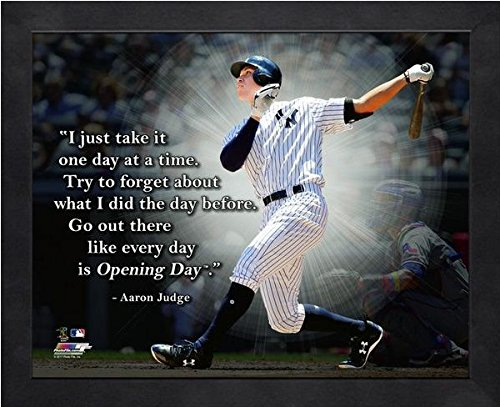 Aaron Photograph - Aaron Judge NY Yankees ProQuotes Photo (Size: 12