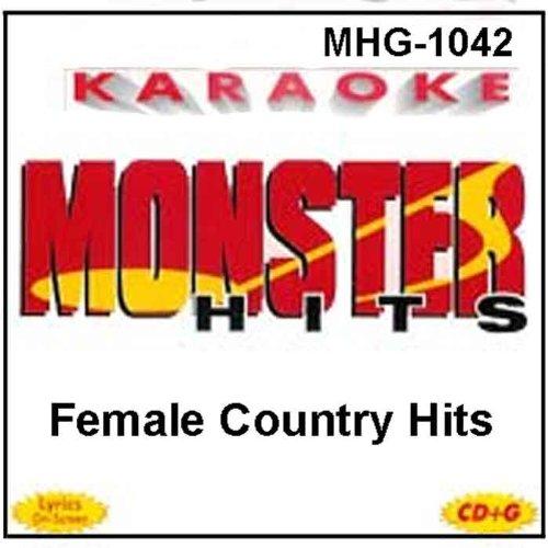 Monster Hits Karaoke #1042 - Female Country Hits