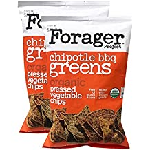 Forager Glueten Free Corn Free Organic Vegetable Chips 5oz, 2 Pack (Chipotle BBQ)