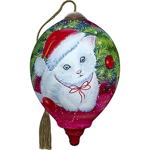 - Ne'Qwa Christmas Kitten Ornament