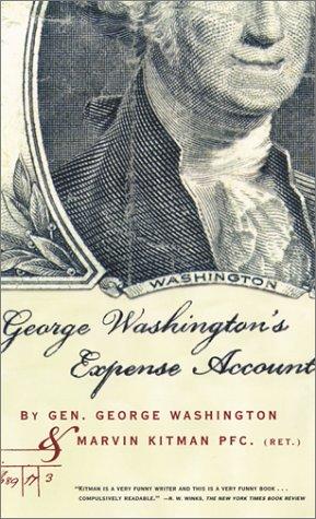 Read Online George Washington's Expense Account pdf epub