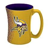 NFL Minnesota Vikings Mocha Mug, 14-ounce, Yellow