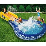 Banzai Wave Crasher Surf Slide Inflatable Body Board 18593 by Banzai [Toy]
