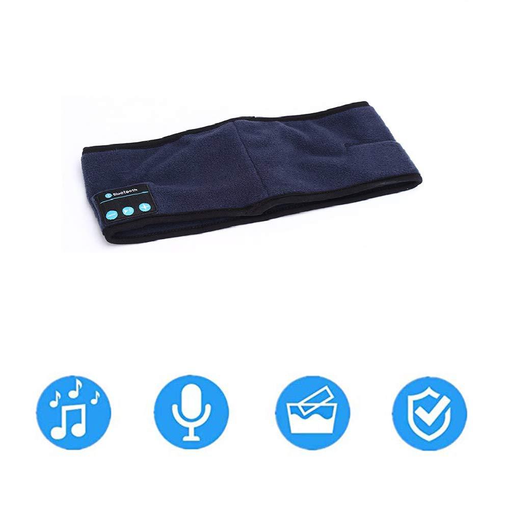 FFLOWER Bluetooth Headphones, Bluetooth Music Headband Headset with Wireless Earphone for Running Yoga Gym Sports,C
