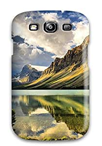 High Quality Shock Absorbing Case For Galaxy S3-majestic Mountain