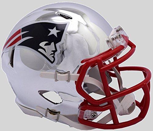 Patriots NFL Revolution Speed Football Helmet ()