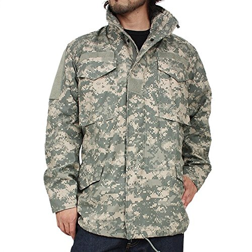 New US Army M-65 Acu Cold Weather Field Coat Jacket Liner Patch (Large/Long)