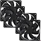 AMA(TM) 4PCS 12V 4Pin DC Brushless PC Computer Case Cooling Fan Pad Tray Chilling Stand (4)