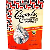 Cocomels Coconut Milk Caramels - Organic Dairy Free, Espresso 6 Pack