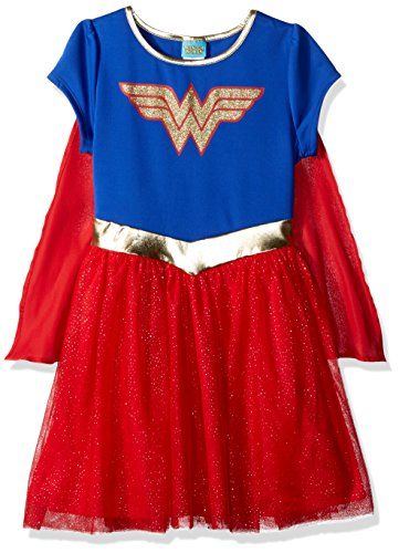 M10 Shield - Warner Bros. Little Girls' OG WW Shield, Navy/Red, M10/12