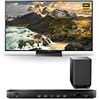 Sony Z9D 75 4K HDR Ultra-High Definition Android TV w/ Sound Bar Speaker System