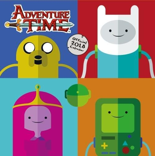 Adventure Time Official 2018 Calendar - Square Wall Format