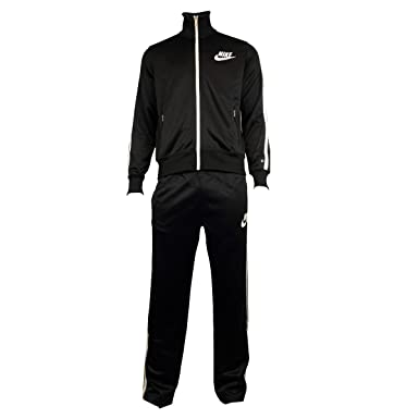 d98ccf606 Mens Boys Nike Polyester Full Suit Tracksuit Athletic Track Jacket ...