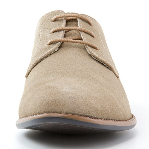 J75 By Jump Mens Marconi Oxford Shoe Sand