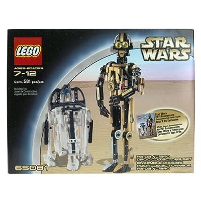 Lego Star Wars R2-D2 C3PO Droid Collectors Set 65081: Toys & Games