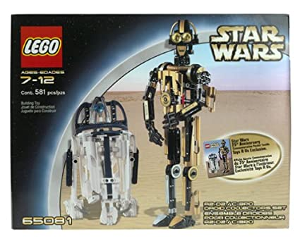 Amazon Lego Star Wars R2 D2 C3po Droid Collectors Set 65081
