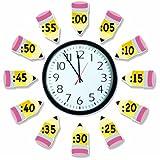 Eureka Telling Time Bulletin Board Sets (847423)