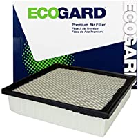 ECOGARD XA6116 Premium Engine Air Filter Fits Dodge Durango 3.6L 2011-2020, Durango 5.7L 2011-2020, Durango 6.4L 2018-2020   Jeep Grand Cherokee 3.6L 2011-2020, Grand Cherokee 5.7L 2011-2020