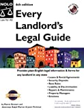 Every Landlord's Legal Guide, Marcia Stewart and Janet Portman, 0873379233