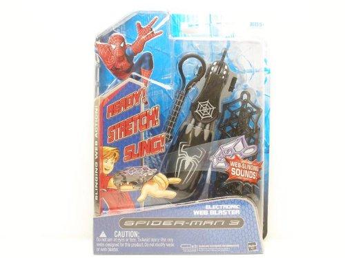 100% precio garantizado Spider-Man Spider-Man Spider-Man Basic Electronic Web Blaster negro by Hasbro  tienda en linea