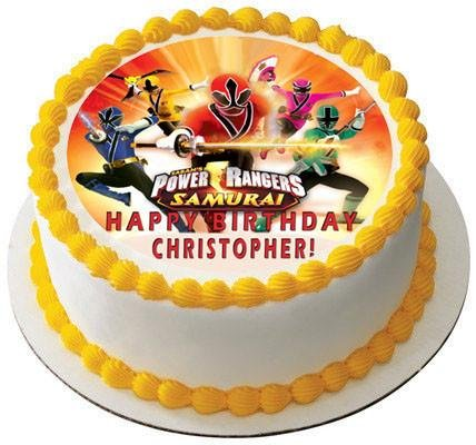 Awesome Power Rangers Cake Toppers Shop Power Rangers Cake Toppers Online Funny Birthday Cards Online Inifodamsfinfo